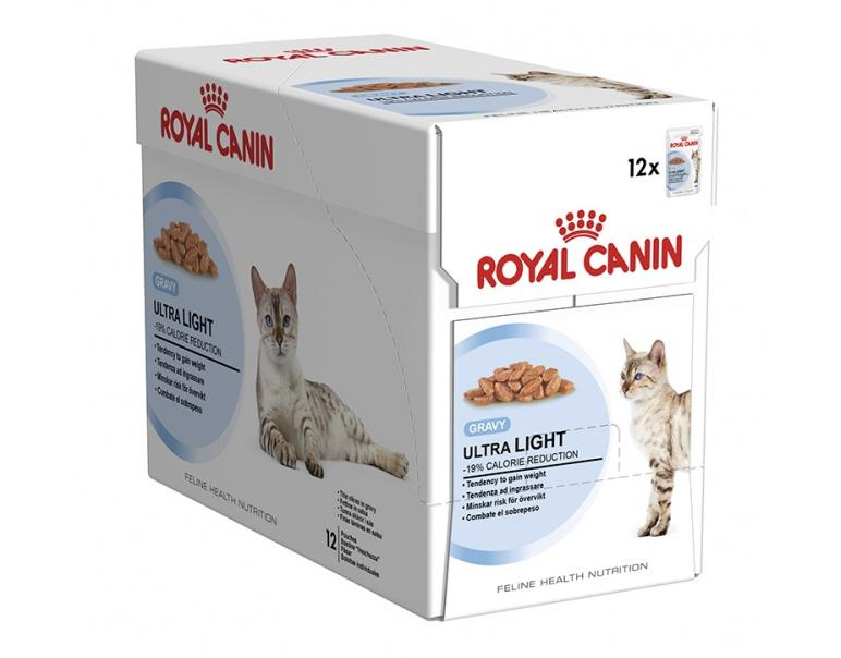 PACK AHORRO Royal Canin Ultra Light 12x85gr