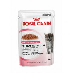 Royal Canin Gatos Kitten Instinctive Gelatina 85g