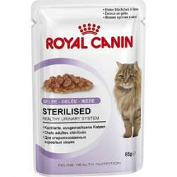 PACK AHORRO Royal Canin Gatos Sterilised Gelatina 12x85g