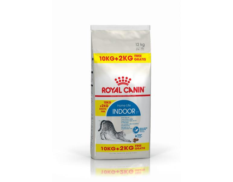 Royal Canin Indoor  10 kg + 2 kg