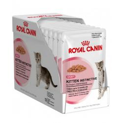 PACK AHORRO Royal Canin Kitten Instinctive Salsa 12x85gr