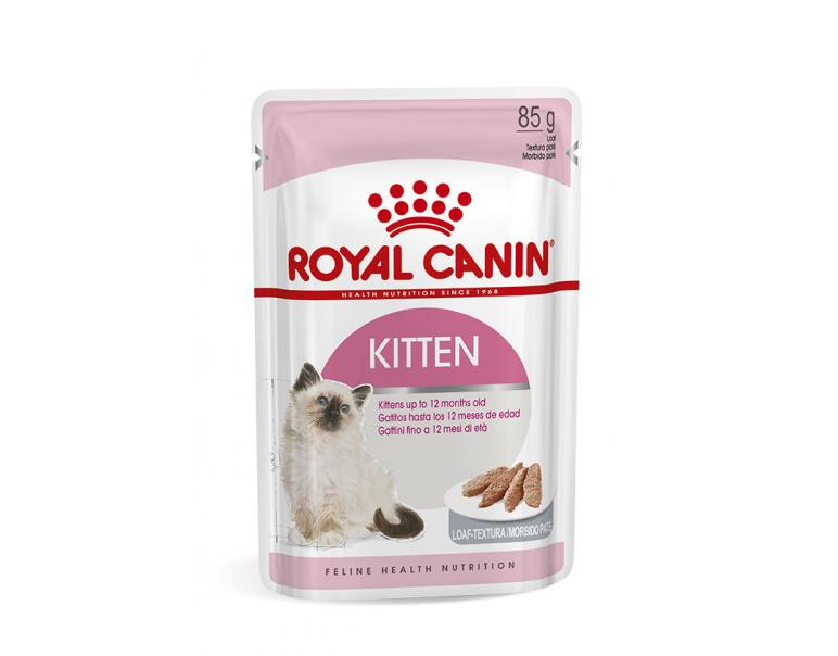 PACK AHORRO Royal Canin Kitten Paté 12x85g