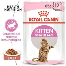 Royal Canin Kitten Sterilised en Salsa para Gato 85gr