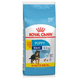Royal Canin Maxi Puppy 15Kg + 3Kg