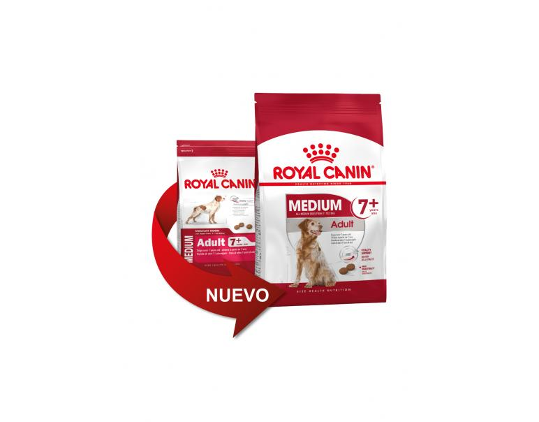 Royal Canin Medum Adult 7+ Mature 4 kg
