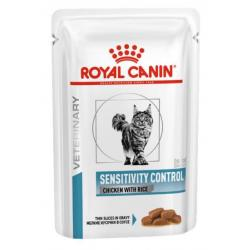 Royal Canin VHN Gato Sensible Pollo 12 x 85 g