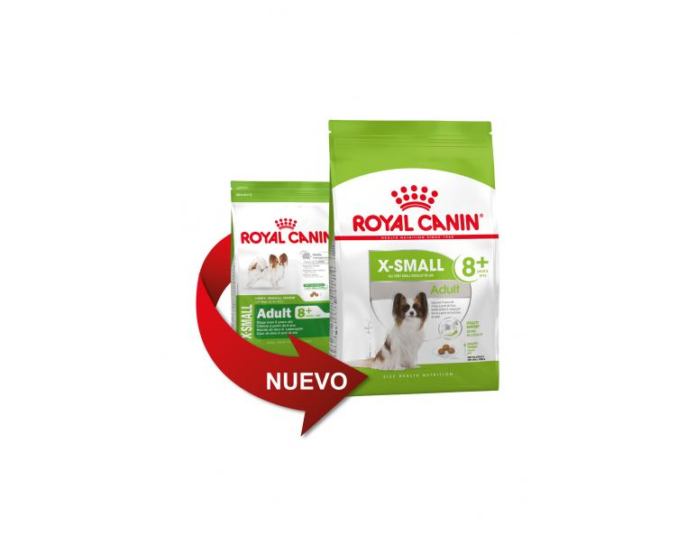 Royal Canin X-Small Mature +8 500g