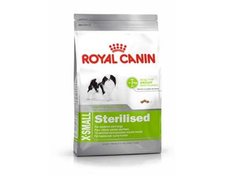 Royal Canin X-Small Sterilised Adult 1.5kg