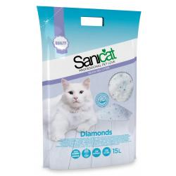 Pack Ahorro Sanicat Diamonds Silic Gel 2x15L