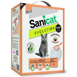 Pack Ahorro Sanicat Evolution Arena para gatos adultos 3x6L