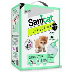 Pack Ahorro Sanicat Evolution Arena para gatitos 3x6L