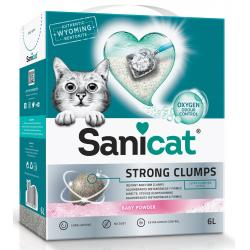 Sanicat Strong Clumps para Gatos 6L
