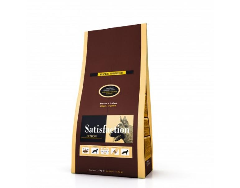 Satisfaction Senior Saco de 3kg