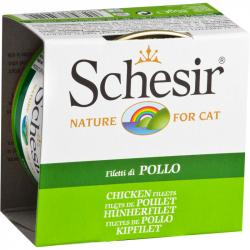 Schesir Gato Filetes de Pollo 85g