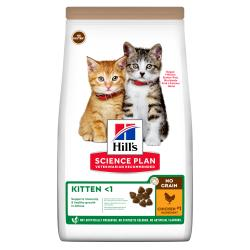 Hill's No Grain Gato Cachorro Pollo 1,5 kg