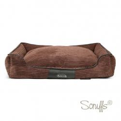 Scruffs Cama Perros Milan Box Chocolate XL 90 x 70 x 16 cm