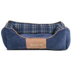 Scruffs Highland Box Bed Azul S 50 x 40cm