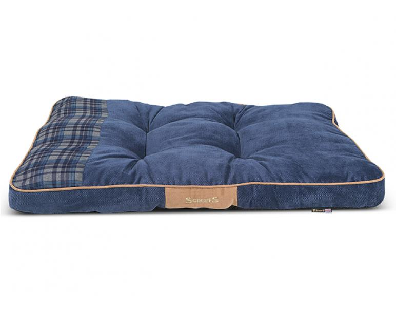 Scruffs Highland Matress Azul L 100 x 70 x 8cm