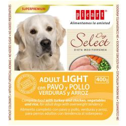 Picart Select Dog Adult Wet Light 6x400g