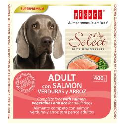 Picart Select Dog Adult Wet Salmón 6x400g