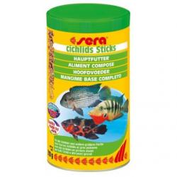 Sera Cichlids Sticks Alimento para peces 1.000 ml