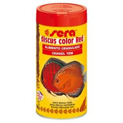 Sera Discus Color Red alimento granulado para peces 250 ml