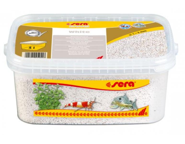 Sera Gravel Blanco 1-3mm 3L