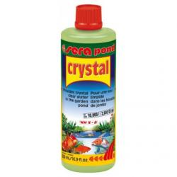 Sera Pond crystal Antialgas de acuarios 500 ml
