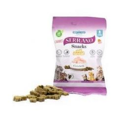 Serrano Snack Gato Pollo Anti Hairball 12x50g