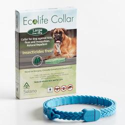 Solano Ecolife Collar para Gatos Blanco