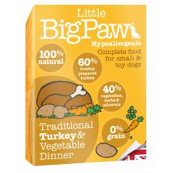 PACK AHORRO Big Paw Pavo 100% Natural 7x150gr