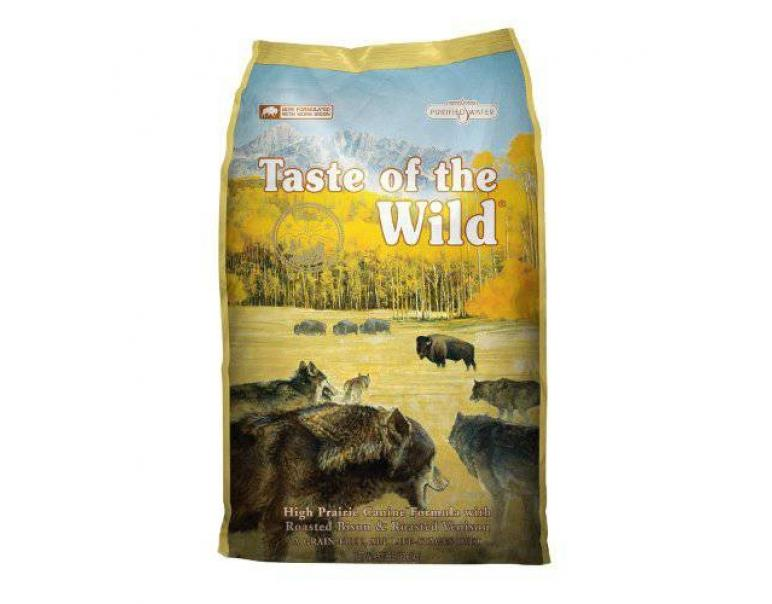 Taste of the Wild High Prairie Bisonte & Venado 13Kg