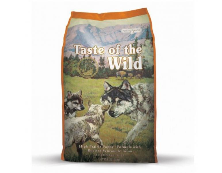 Taste of the Wild Prairie Puppy Bisonte & Venado 2Kg