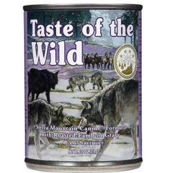 Taste of the Wild Sierra Mountain Cordero 390g