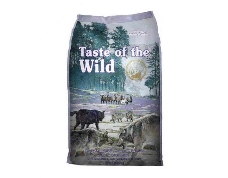 PACK AHORRO Taste of the Wild Sierra Mountain Cordero 2x12,2Kg
