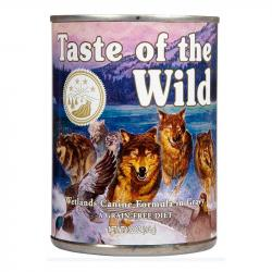 Taste of the Wild Wetlands con Pato 390g