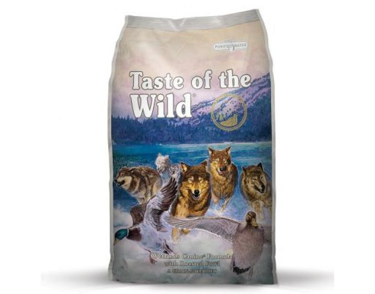 Taste of the Wild Wetlands Pato 6Kg