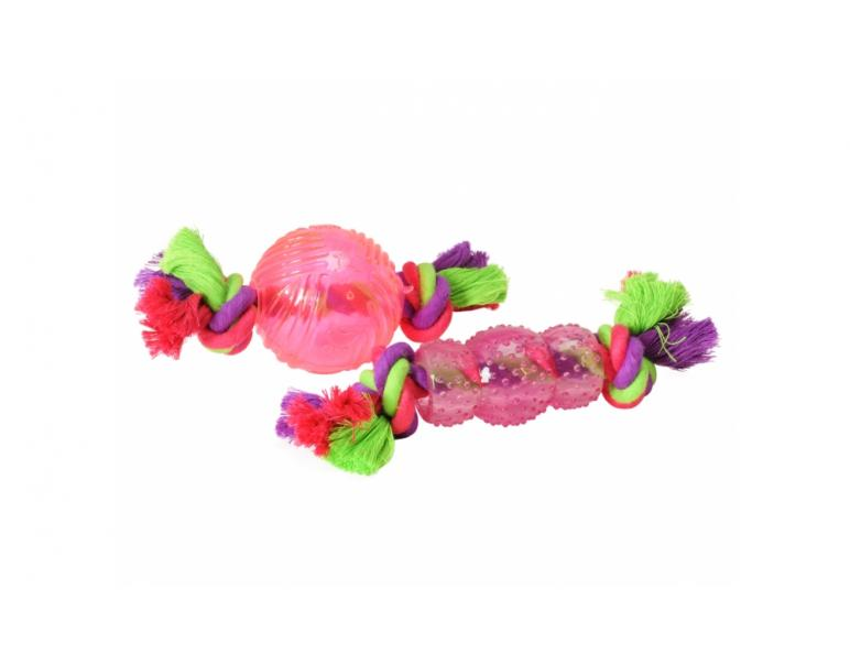Tpr toy with rope        12pcs