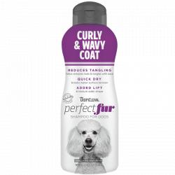 Tropiclean Perfect Fur Shampoo Curly And Wavy Coat para Perros 473ml