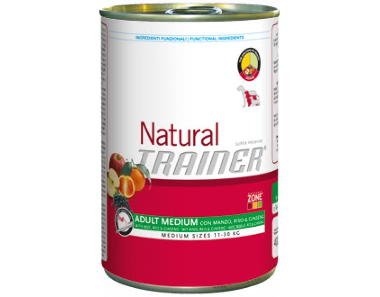 Trainer Adult Medium Veal Rice & Ginseng 400g