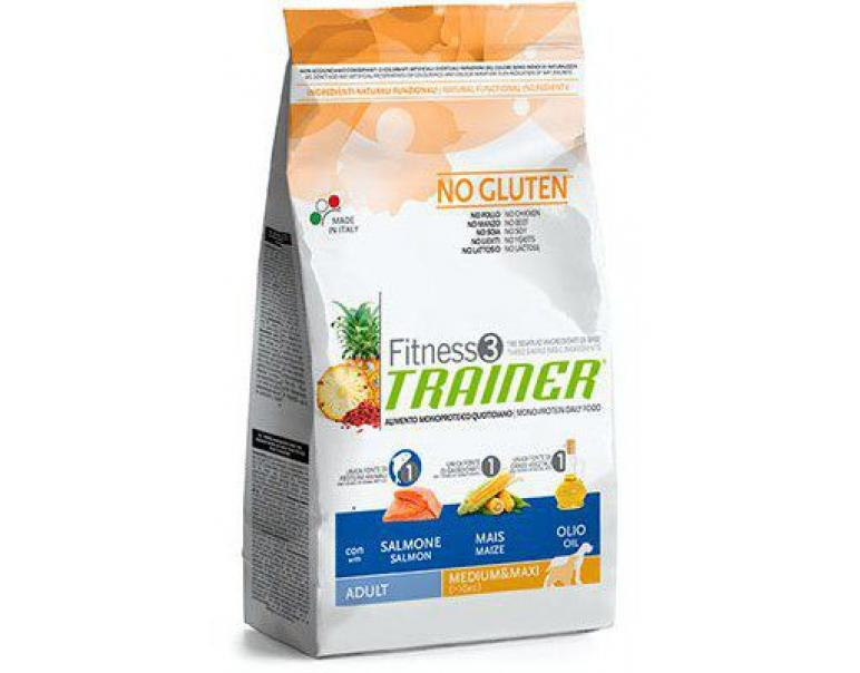 Trainer Fitness3 Adulto Mediano/Maxi Salmón 3kg
