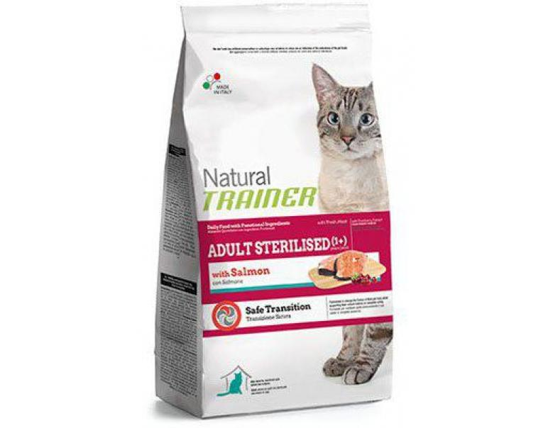Trainer Natural Cat Adult Sterilized Salmón 3Kg