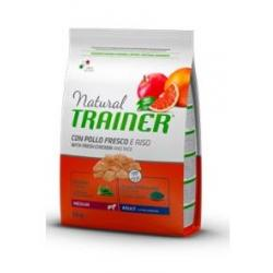 Trainer Natural Mediano Adulto Pollo Riso&Aloe 3Kg