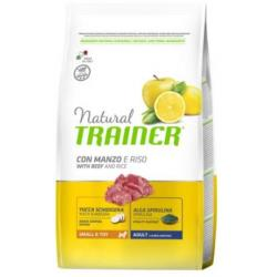 Trainer Natural Mini Adult Ternera Riso&Gins 2Kg
