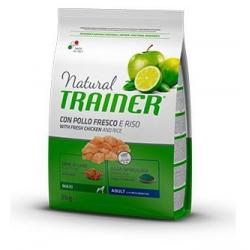 Trainer Natural Maxi Adult Pollo Riso&Aloe 12Kg
