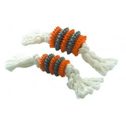 Training Tooth Cleaner Cuerda Naranja/Gris