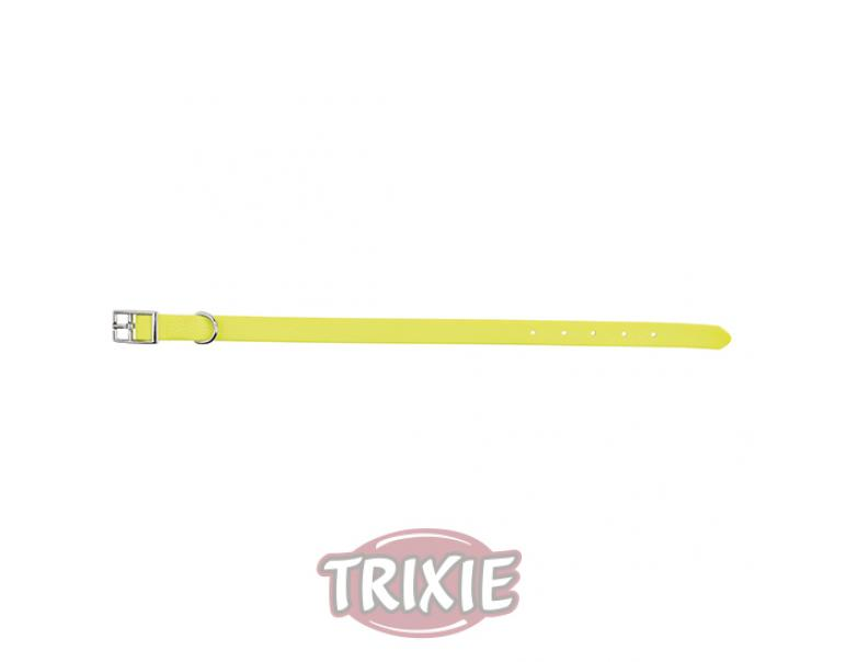 Trixie Collar Easy Life Amarillo Neón L 51-59 cm x 25 mm