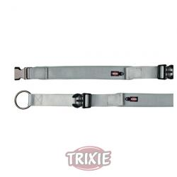 Trixie Collar Experience Extra Ancho Plata M-L