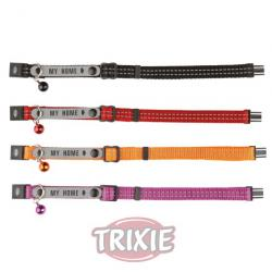 Trixie Collar con Portadirecciones Reflectante 23-26cm