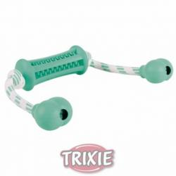 Trixie Denta Fun Mordedor c/cuerda Caucho Natural  37cm